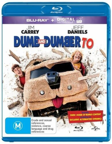 1 of 1 - Dumb And Dumber To (Blu-ray, 2015)