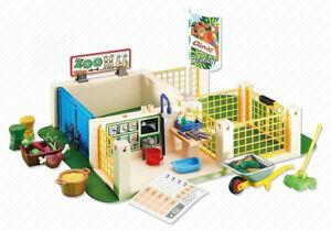 Playmobil 6425 - Centre De Soins Pour Animaux Emballage Plastique, Pas Boite