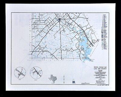 George West Texas Map Texas Map   Live Oak County George West Lake Corpus Christi Oil