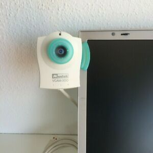 WebCam-Mustek-VCAM-300-fuer-Skype-u-Bildtelefonie-ideal-fuer-aeltere-Notebooks