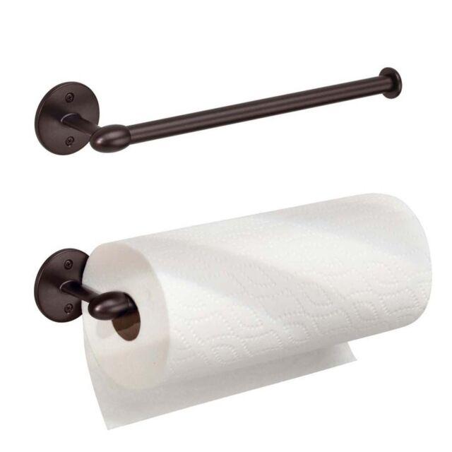 New York Orbinni Kitchen Wall Mount Paper Towel Holder Bronze