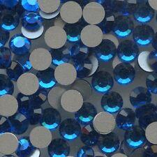 2012 SS20 CB *** 30 STRASS SWAROVSKI FOND PLAT SS20(4,7mm) CAPRI BLUE F
