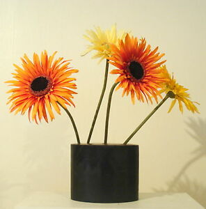 Lost-Wax-Cast-Bronze-Decorative-Pen-Holder-Flower-Vase-Fine-Art