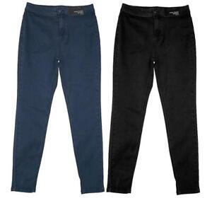 Jeans-Femme-Taille-Haute-Slim-Leg-Denim-stretch-Jegging-femme-12-ou-14