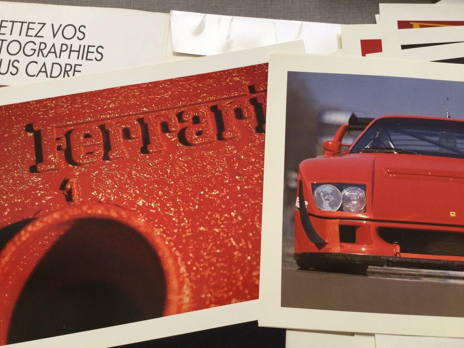 Venta en línea de descuento de fábrica Ferrari F40 16 photo's posters by Albérique Haas a3 mint mint mint  protección post-venta