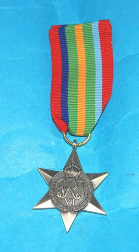 BRITISH COMMONWEALTH PACIFIC STAR REPLACEMENT MEDAL /& RIBBON .