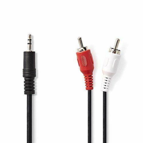 Reproductor MP3 PC al Amplificador Sistema HiFi,iPod Smart TV 3M Tablet Cable Audio RCA,Jack 3,5mm Macho a 2RCA Macho Nylon Trenzado Est/éreo Cable,para el Smartphone Sistema Est/éreo y etc