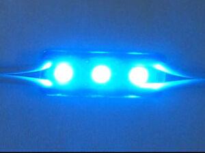 Forma-Ladrillo-LED-3-SMD-Azul-azul-Para-Personalizar-Letrero-para-LED