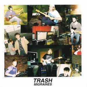TRASH-INDIE-Migraines-7-034-VINYL-UK-Flying-Vinyl-2-Track-Limited-Edition-Black