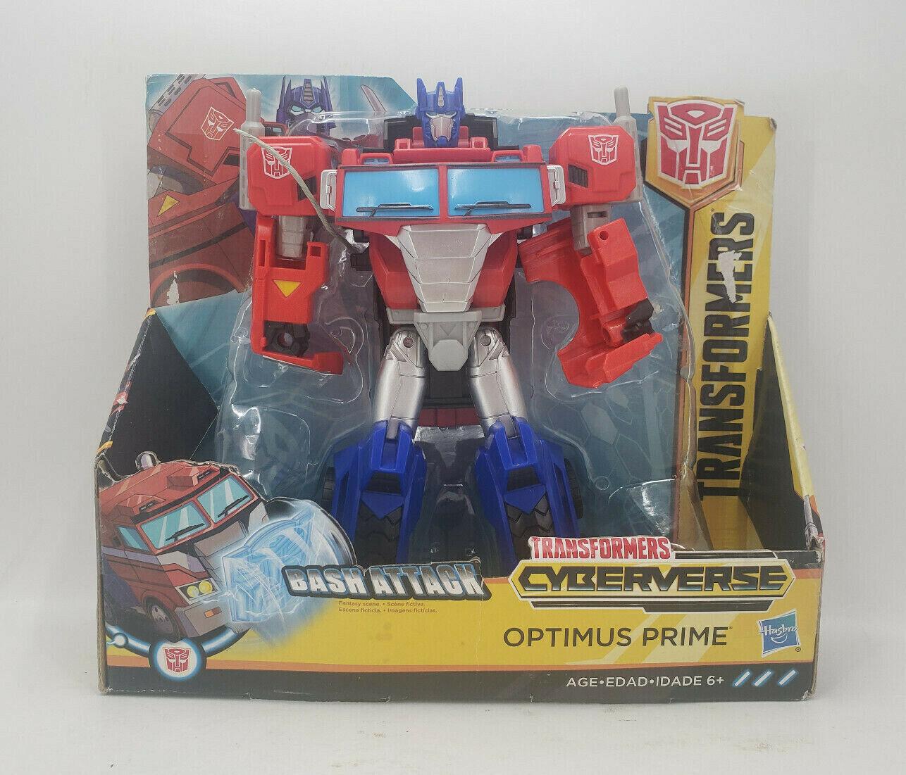 Bumblebee Cyberverse Adventures Hasbro Transformers: Optimus Prime for sale online E7112