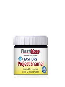 Plasti-Kote-Fast-Dry-Enamel-Paint-Brush-On-59ml-26-COLOURS-FREE-DELIVERY