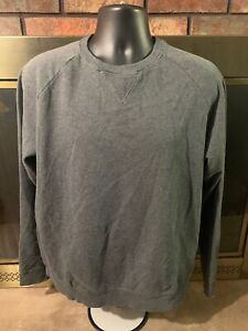 Reebok-Crossfit-Gris-Crewneck-Gym-Training-Sweat-shirt-Pull-Homme-Taille-L