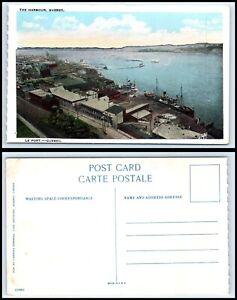 CANADA-Postcard-Quebec-The-Harbor-P51
