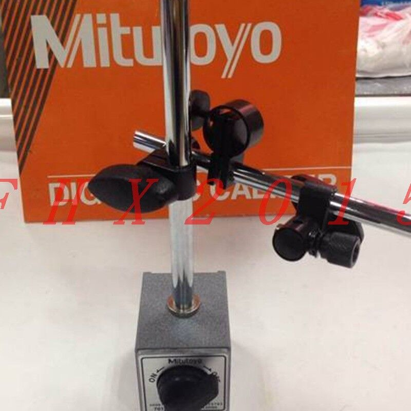ONE NEW Mitutoyo 7010S-10 Magnetic Stands for Dial USED Indicators