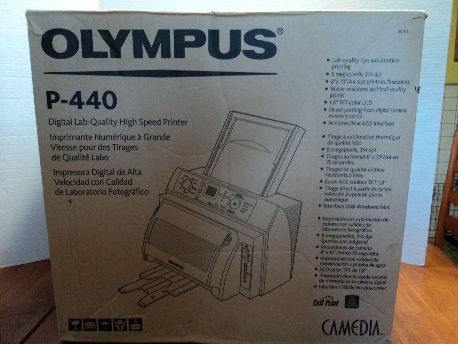 tirage carte de qualite Olympus Camedia P 440 Digital Photo Thermal Printer for sale