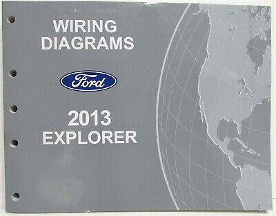 2013 Ford Explorer Electrical Wiring Diagrams Manual   eBayeBay