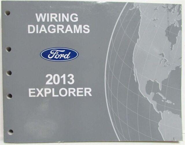 2013 Ford Explorer Electrical Wiring Diagrams Manual