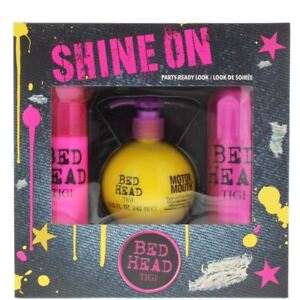 Image is loading TIGI-Bed-Head-Shine-On-Gift-Set-For-