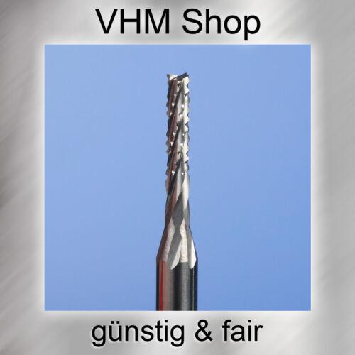Durchmesser 2,5 mm 20 Stück Spiralverzahnte VHM Fräser,HM Schaftfräser,Dremel