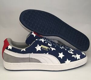 a6872913b41a46 Image is loading PUMA-SUEDE-AMERICANA-MEN-039-S-SIZE-9-