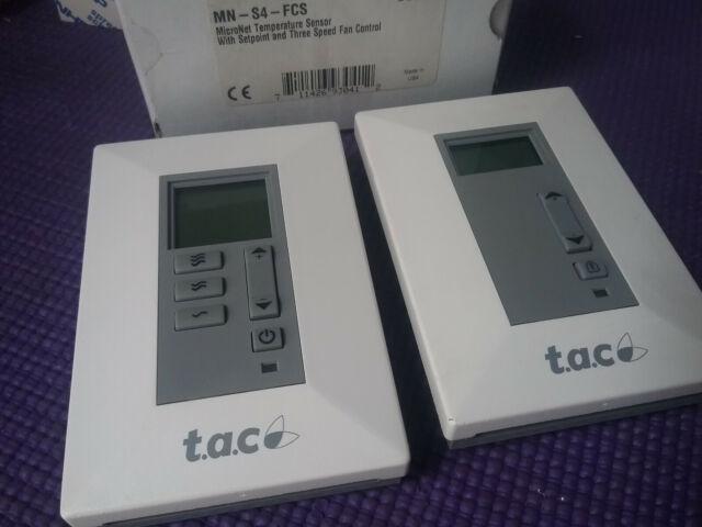 Schneider MN-S4-FCS,Room Sensor w/ Setpoint On/Off/Auto, 5 buttons,IA [2  Pieces]