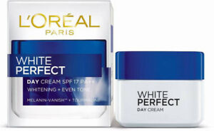 L-039-OREAL-PARIS-White-Perfect-Day-Cream-SPF17-PA-Whitening-Even-Tone-50ML