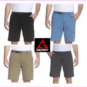 Gerry-Men-039-s-Venture-YKK-zipper-adjustable-belt-5-belt-loop-Cargo-Short