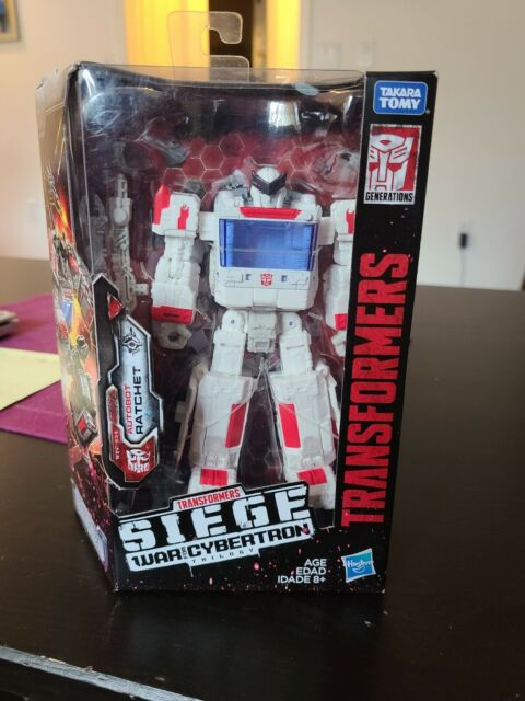 Transformers War for Cybertron: Siege Ratchet! New in box, never opened.