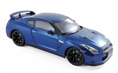 Norev 188052 Nissan GTR R-35 2008 Blau1:18
