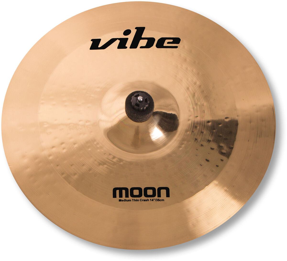 14  Vibe Moon Brilliant Medium Thin Crash Becken Cymbal B20 mit Zertifikat