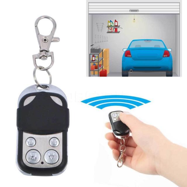 4 Button Gate Garage Door Opener Remote Control 433MHZ Rolling Code Universal CA