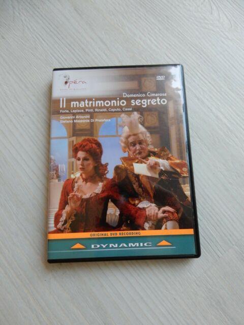 Il Matrimonio Segreto (Cimarosa) DVD – Opera Royal De Wallonie production – Used