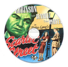 Scarlet Street (1945) Fritz Lang Drama, Film Noir Movie on DVD