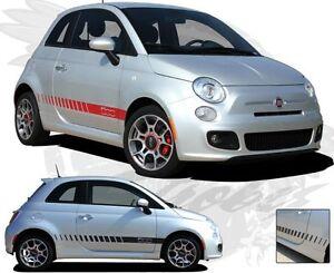 For-FIAT-ALL-MODELS-Strobe-Graphics-Kit-EE-1754-Decals-Trim-Emblems-2012-2013-17