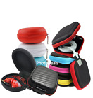 Portable Hard Case Storage Zipped Pouch For SD Card Earphone Headphone Earbuds