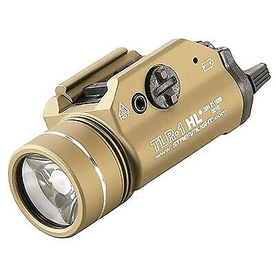 Streamlight TLR-1 HL Gun Light - FDE. Available Now for 146.57