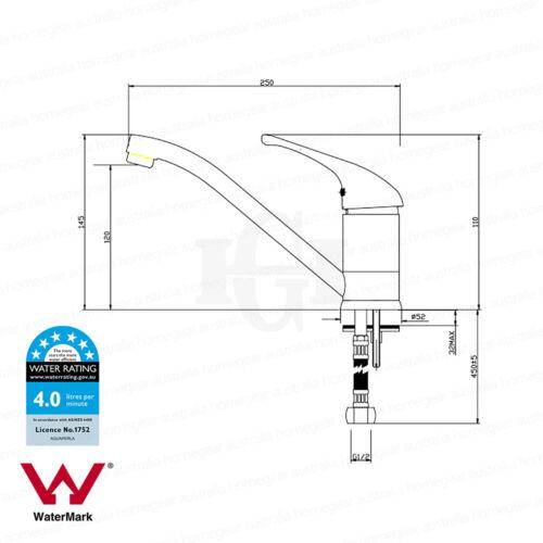 Round Matte Black 360° Swivel Laundry//Kitchen Sink Mixer TapElectroplated