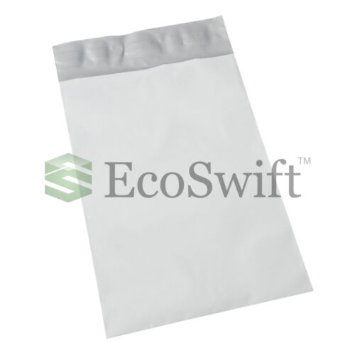 2500 7.5 x 9.5 White Poly Mailers Shipping Envelopes Self Sealing Bags 2.35 MIL