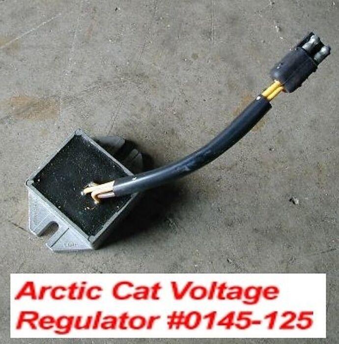 Arctic Cat Electric Start Voltage Regulator NOS New