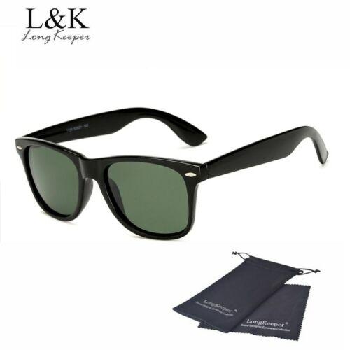 Long Keeper Brand Unisex Retro Polarized Sunglasses Men Women Vintage Eyewear