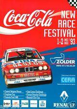 BMW E30 M3 1993 DTM BMW Pro Car Bastos Motorsport Large promo poster print