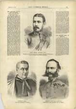 1878 Lt Henry Munday Cardinal Nina Papal Secretary Von Philippovics Bosnia