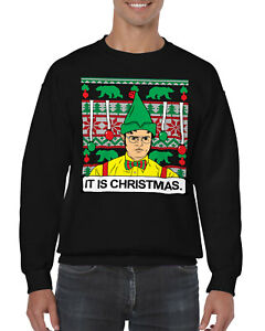 The Office Christmas Sweater.Details About Office Dwight It Is Christmas Ugly Christmas Sweater Men S Crew Neck Sweater