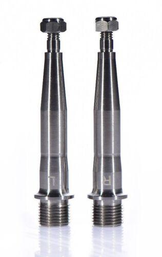 MAVIC Crossmax//roc XL 2 Titanium pedal Axles! TIME DH4-MX6-MX8