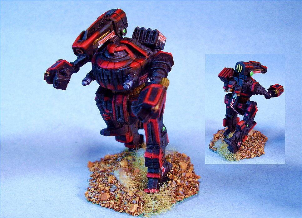 Battletech Pintado Rook battlemech Wd