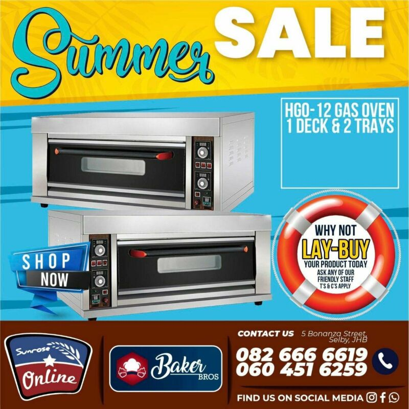OVENS FOR SALE – OVEN FOR BAKING – BAKERY MACHINE – ELECTRIC OVEN – GAS OVEN – BAKING STOVE – BREAD