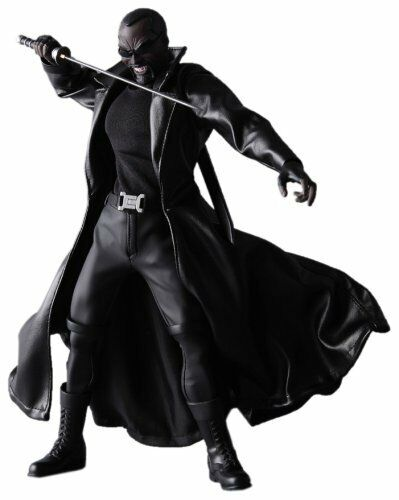 Marvel Comics Medicom Real heroes 12  Blade the Vampire Hunter toy figure RARE