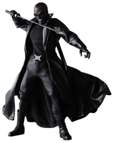 Marvel Comics Medicom Real heroes 12  Blade the Vampire Hunter toy figure RARE