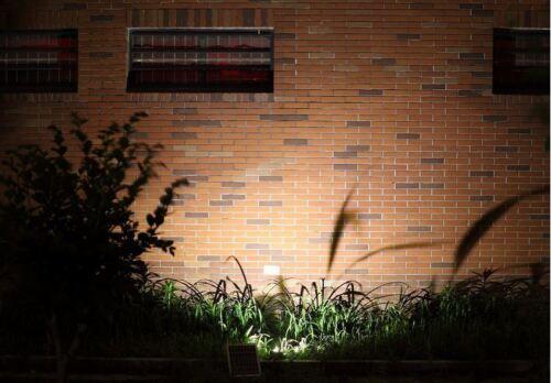 Upgraded New Outdoor Solar Flood Light Dusk to Dawn NO running Cost