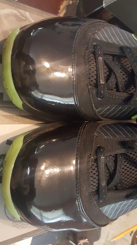 RARE NIKE AIR MAX LEBRON VII 7 7 7 DUNKMAN 12 BLACK ELECTRIC GREEN 375664-006 33c5cc
